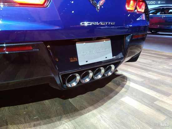 最强科尔维特 北美车展实拍科尔维特ZR1