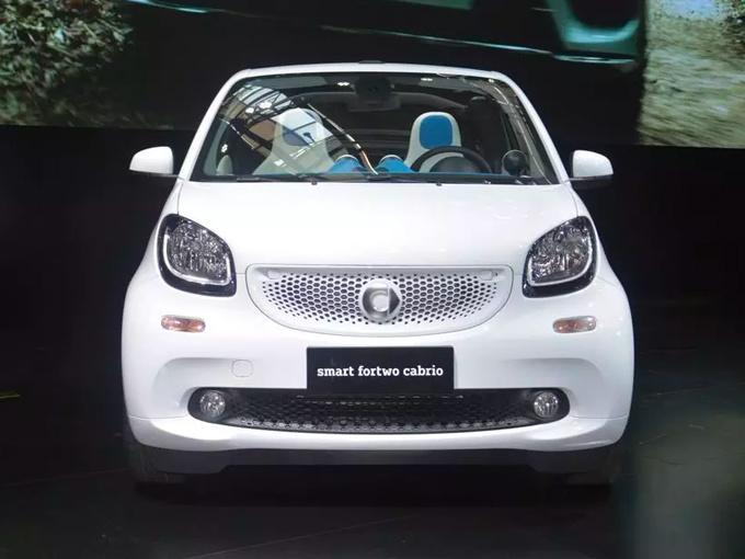 奔驰smart国产,吉利戴姆勒,smart纯电动