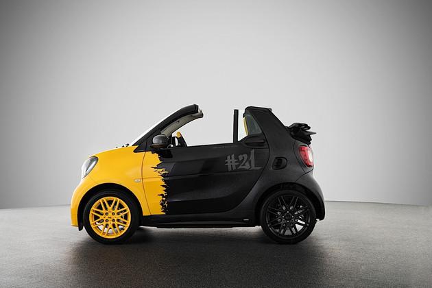 smart电动车,巴博斯21周年特别版